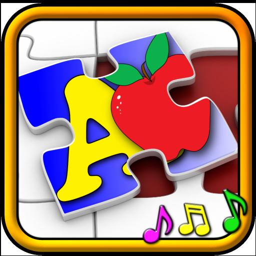 Kinder ABC und zählen Jigsaw Puzzle-Spiel - lernen die Alphabet Rechenfähigkeit Formen und Zahlen für Kleinkind und Pre-Schule im Alter von Kleinkindern geeignet (Puzzle Sprechen)