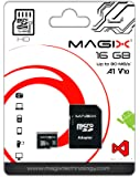 Magix Micro SD Card HD Series Class10 V10 + SD Adapter UP to 80MB/s (16 GB)