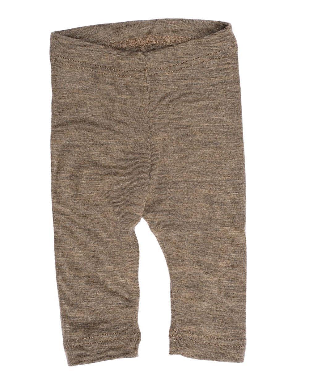 Engel Axil - Baby leggings lana (kbt) y seda ángel natural maschinenw color: nuez, talla: 62/68 1