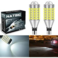 Kashine 912 921 LED Backup Light Bulbs Canbus Error Free T15 LED Bulb 15 SMD 5730 5630 For Car Backup License Plate Rear Side Marker Parking Clearance Light Bright Light 6000K 12V Pack of 2