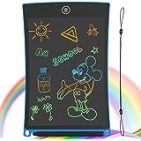 GUYUCOM Tableta de Escritura LCD, Tablero de Dibujo electrónico de 8.5 Pulgadas - Tablero de Grafiti de con Bloqueo de Pantal