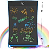GUYUCOM LCD Writing Tablet, 8.5 inch Kids Doodle & Scribble Boards Erasable Writing Tablet for kids adults with Lock…