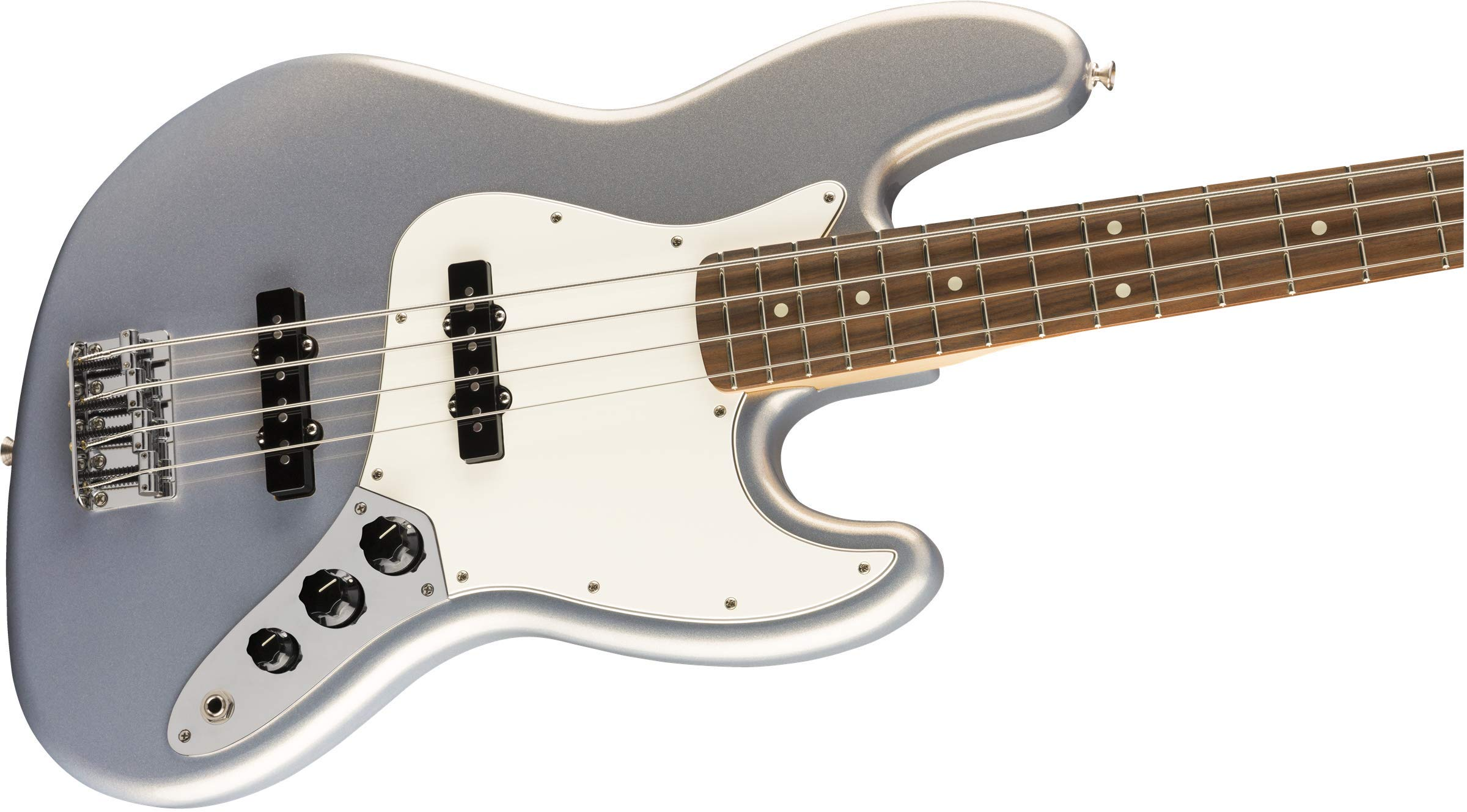 Fender Player Jazz Bass®, Pau Ferro Fingerboard, Silver