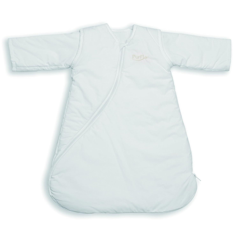 PurFlo SleepSac 25 Tog Plain White 18 Mths Baby Sleeping Bag Amazoncouk