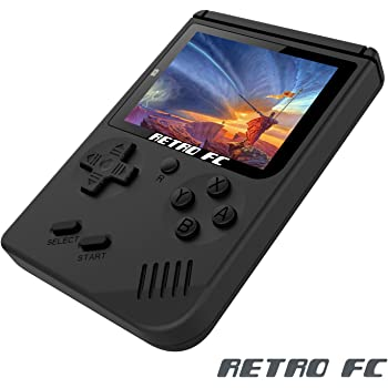 Rongyuxuan handheld game console portable video game 3 tft screen game console anbernic handheld game console 3 inch screen 168 games retro fc tv output game player classic game console birthday present for children fandeluxe Image collections