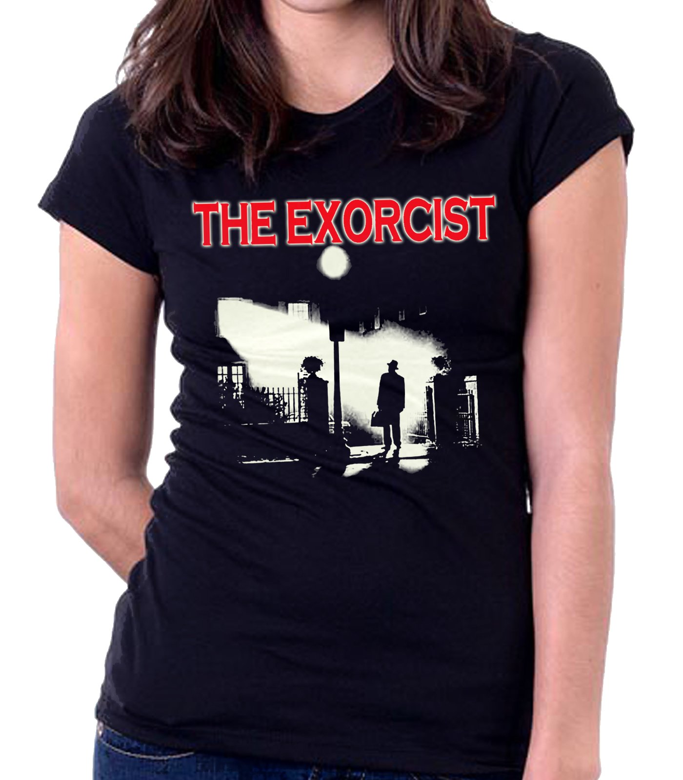 El Exorcista Cruz women/'s tank top Camiseta Mujer Tirantes The Exorcist