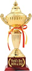 Mom Dad Gift : Trophy : Award by Aark India (PC 00522)