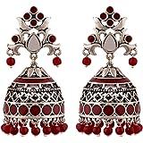 Voylla Rangabati Cutwork And Beads Earrings Jewellery For Women