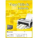 Laser Inkjet 2400 St. Eti. 100 Blatt Drucker Etiketten 70 x 37,1 mm DIN A4