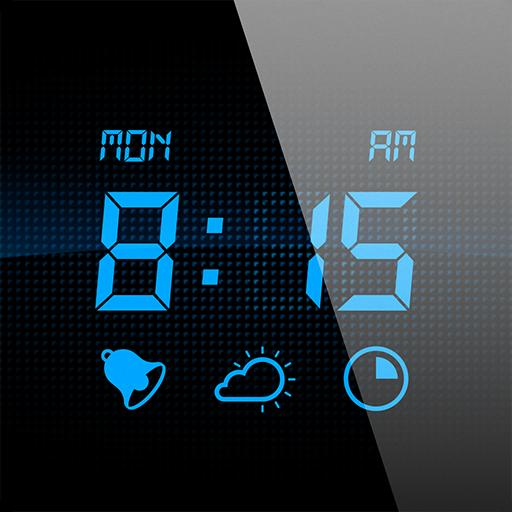 Welch Uhr (Mein Wecker - Wachen Sie mit der digitalen Wecker-App auf, welche eine Sleep-Timer besitzt und die aktuellen Wetterverhältnisse anzeigt)