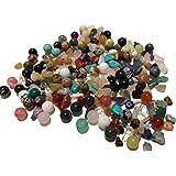 Aprox. 200 piezas de piedras semipreciosas redondas y naturales piedras preciosas piedras curativas piedras semipreciosas per