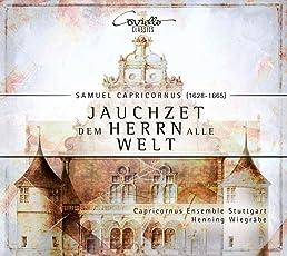 Capricornus/Bertali: Jauchzet dem Herrn Alle Welt - Geistliche Konzerte