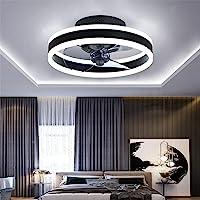 TATANE Reversible Plafonnier Ventilateur Silencieux Telecommande 6 Vitesses Chambre Ventilateur de Plafond avec Lumiere…