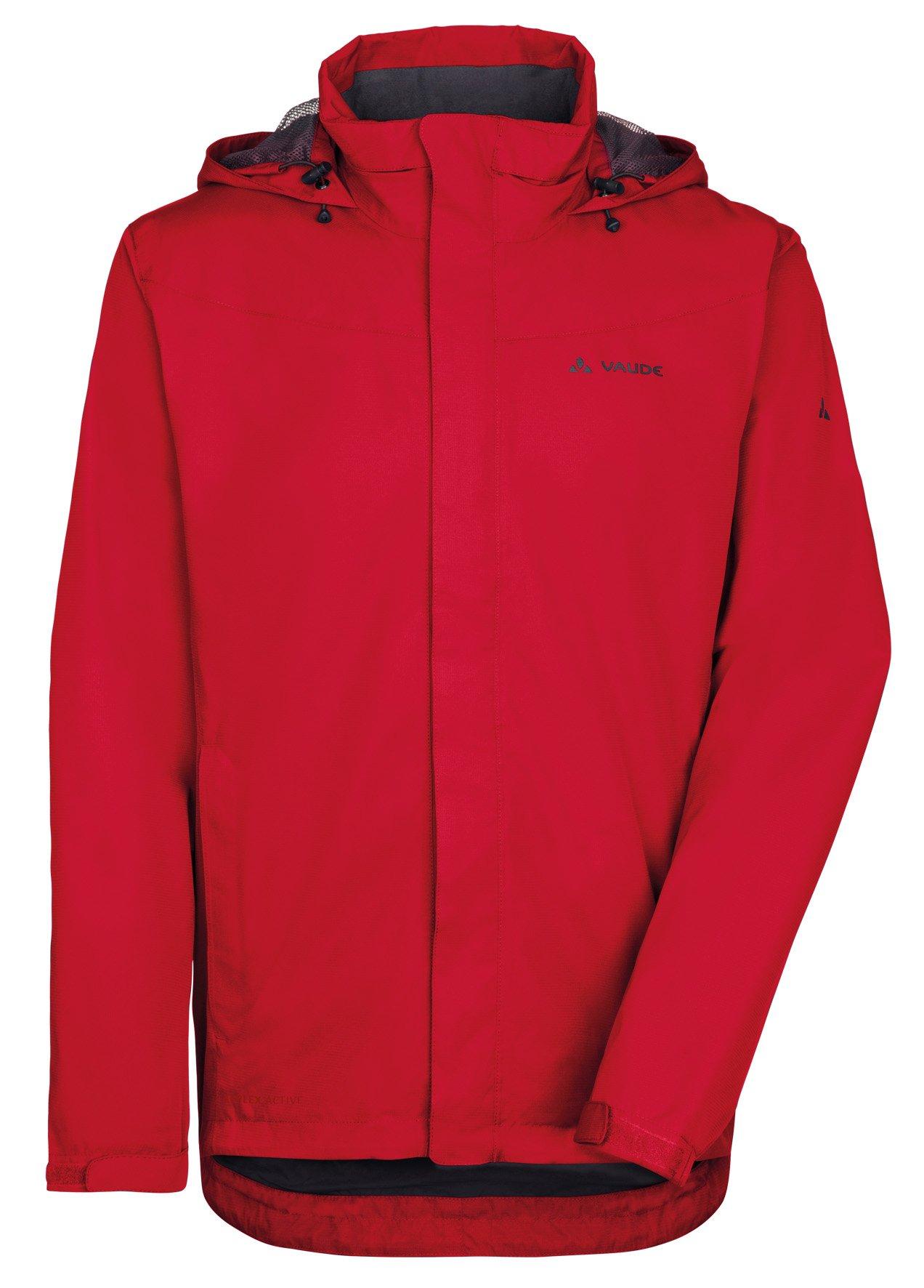 71TSWGqKnYL - VAUDE Men's Escape Bike Light Rain Jacket - 100% Polyester Lightweight Waterproof Jacket - Ideal Rai
