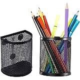 DEDC 3 Pcs Organiseurs Magnétiques en Mailles, Porte-Stylo Paniers de Rangement pour Stockage Stylo Crayon Marqueur Accessoir