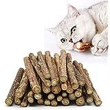onebarleycorn – kattmynta pinnar, tänder slipning tuggleksak för katt kattunge naturliga matatabi, paket med 20 st