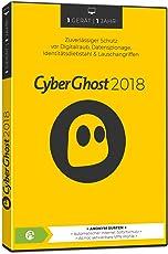 Cyberghost 2018 - 1 Gerät / 1 Jahr|2018|1|12 Monate|PC, MAC, Androis|Disc|Disc