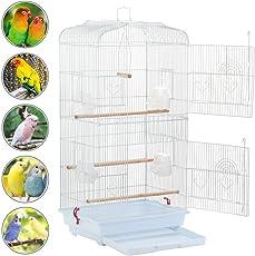 Yahee Vogelkäfig Voliere Vogelhaus für Papagei Wellensittich