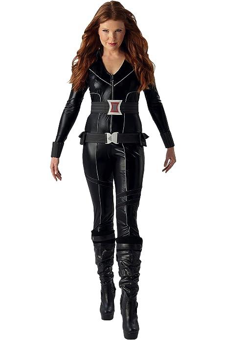Rubies s – Disfraz de Viuda Negra de Marvel Adultos Oficial ...