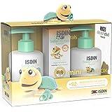 ISDIN Baby Naturals Canastilla Mini, Gel Champú 200 ml, Loción Corporal 200 ml y Pomada Pañal Regeneradora 20 ml, apto desde