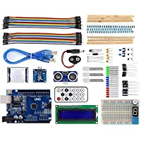 REES52 SMD Uno Based Super Starter Kit Compatible with Arduino smd Full Learning Kit For Robotics Project Kit