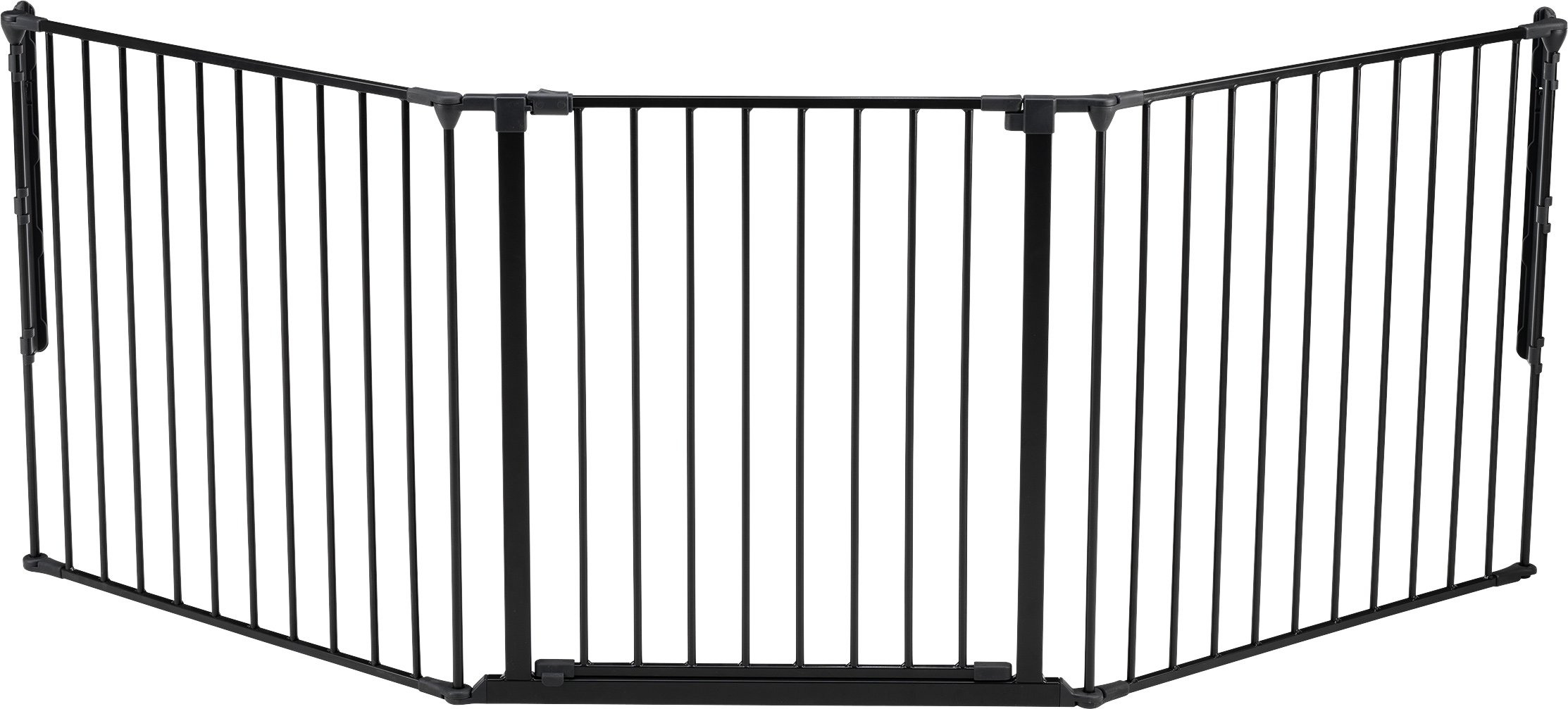 BabyDan Configure (Large 90-223cm, Anthracite) BabyDan Only configure system fulfilling newest european safety standard Multi purpose room divider and gate for wider openings Flexible and easy to fit 1