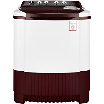 LG 6.8 kg Semi-Automatic Top Loading Washing Machine (P7853R3SA, Burgundy)