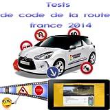 Tests de code de la route france 2014...