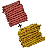 VIP Collection Chicken and Mutton Chew Stick Munchies Combo 1 kg Pack