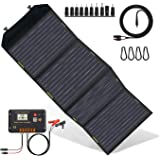 ECO-WORTHY 120 Watts Foldable Solar Panel with Charge Controller DC Output Outdoor Portable Charger in Suitcase for…