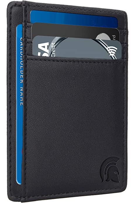 Epoint Mens Fashion ID Card Case Minimalist Secure Thin Credit Card Holder