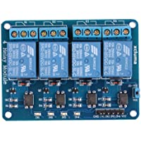 xcluma 4 Channel 5V Relay Board Module Relay Expansion Board For Arduino Rasp