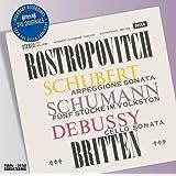 """SCHUBERT : Sonate """"Arpeggione"""" / SCHUMANN : Cinq pièces dans le style populaire / DEBUSSY : Sonate pour violoncelle et piano"""