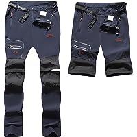 BenBoy Pantaloni Trekking Donna Impermeabili Pantaloni da Lavoro Zip off Convertibile Pantaloncini Traspirante…