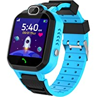 Kinder SmartWatch - MP3 Musik 7 Spiele Kids Smart Watch HD Touchscreen SOS Voice Chat Scherzt Intelligente Uhr mit…