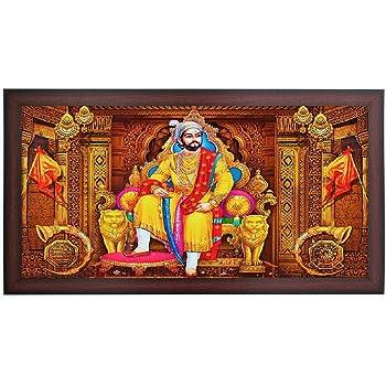 buy bm traders wood rajyabhishek of chattrapati shivaji maharaj in
