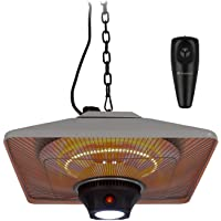 blumfeldt Heat Square - Lampe chauffante exterieur, Chauffage extérieur infrarouge, Chauffage radiant infrarouge…