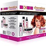 K-Cheratina Kit Color Repair - Trattamento Professionale Capelli Colorati e Decolorati - Contiene lo Shampoo Ricostruzione, l