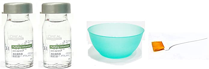 Loreal Hair Spa Set of 4 (Purifying Concentrate+Bowl+Brush) with Ayur Product in Combo
