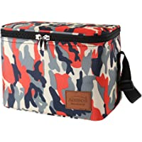 Aosbos Sac Isotherme Repas Portable Multi-usages Style Sobre