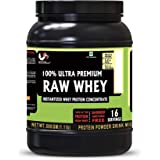 Advance MuscleMass Raw Whey Protein Concentrate | 24.2 g protein | Lab tested | Raw Whey from USA | Unflavoured | 500 G (1.1
