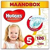 Huggies Luiers - Maat 5 (11 tot 25 kg) - 126 Stuks - Voordeelverpakking Wit