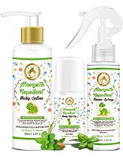 Mom & World Baby Mosquito Repellent Room Spray 100ml - 100% Naturally Derived