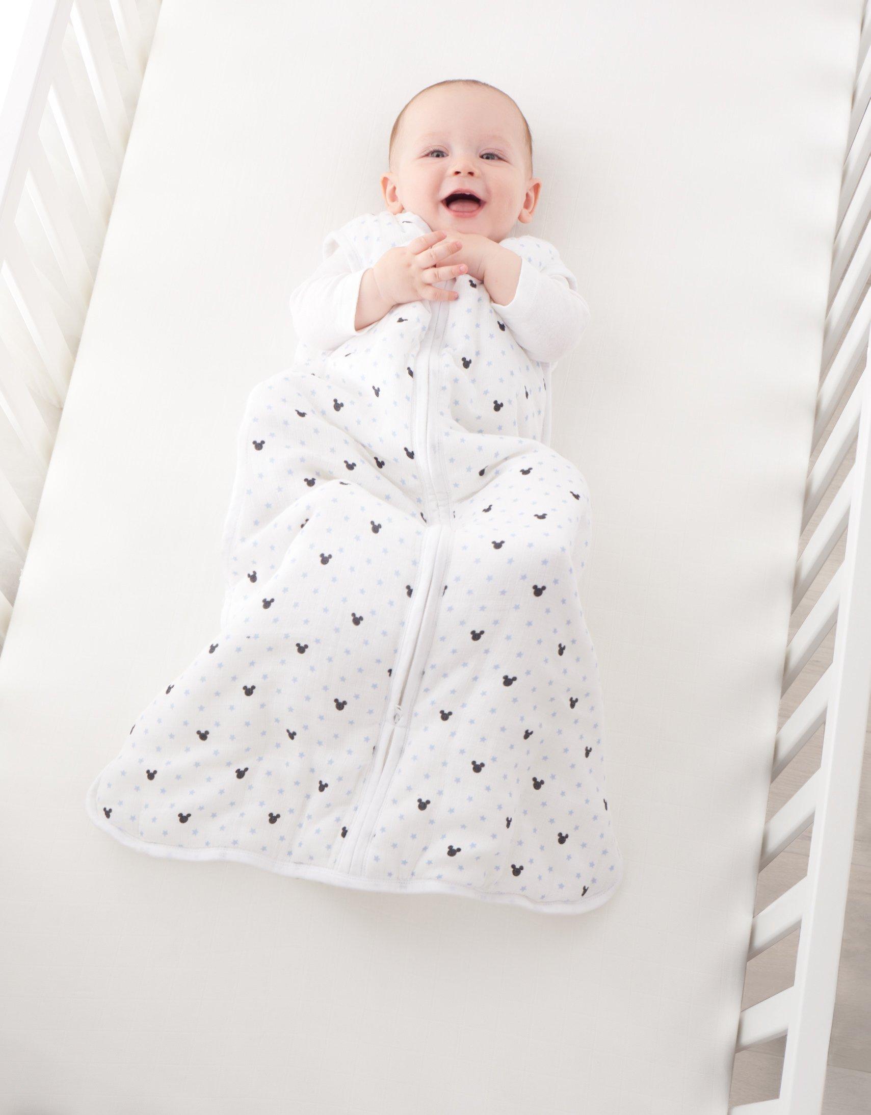 aden por aden + anais 2,5tog invierno saco de dormir–diseño de Mickey Mouse (0–6meses)