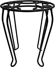 Matelco Garden Flower Pot Stand (Pack of 1) Height 15 inch,Diameter 12 inch