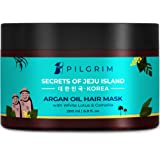 Pilgrim Hair Mask, Spa and Pack (Argan Oil) Treats Damaged, Dry and Frizzy Hair, for Hair Growth and Hair Fall Control…