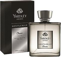 Yardley London Gentleman Classic Eau de Toilette for Men, 100ml