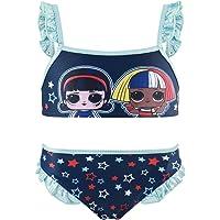Characters Cartoons LOL Surprise - Costume Bikini 2 Pezzi Mare Piscina - Bambina - Prodotto Originale con Licenza…