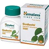 Himalaya Wellness Pure Herbs Guduchi Immunity Wellness |GILOY |Strengthens immunity| - 60 Tablet