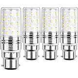 Sauglae LED Ampoule à Maïs 12W, 6000K Blanc Froid, 1200LM, B22 Casquette Baïonnette, Pack of 4